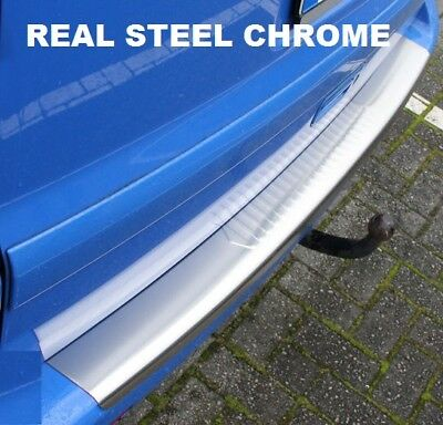 VW Caddy Rear Bumper Protector Chrome Cover Stainless Steel 2004-2015