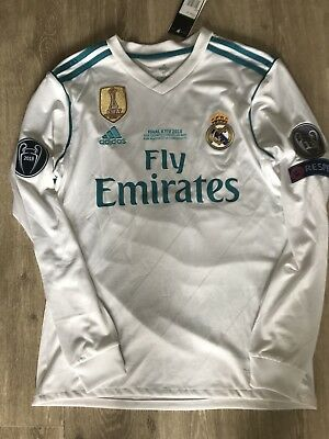 Maillot Real Madrid Gareth bale Taille S