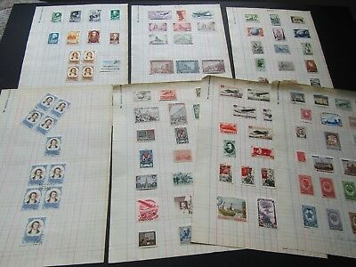 RUSSIA - FINE COLLECTION OF SETS AND ISSUES FOR 1940s/1950s - VERY CLEAN