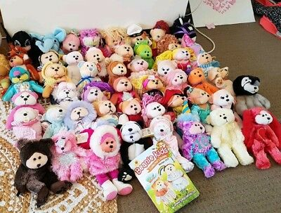 Bulk lot of Beanie Bears / Beanie Kids worth over $650 and collectors guide