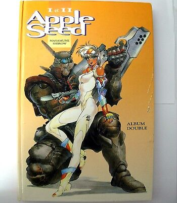 BD Manga APPLESEED Double Album Tome 1 et 2 Francais / French version