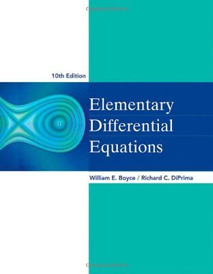 [PDF] Elementary Differential Equations 10th Edition by William E. Boyce