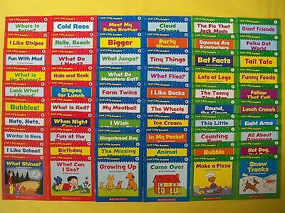 First Little Readers Childrens Books Learn to Read Level ABC Lot 60 Bonus Guides