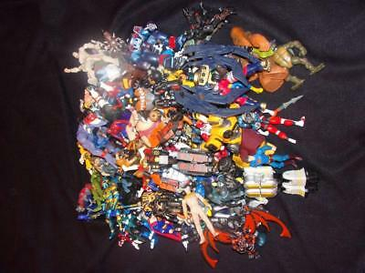 Large Lot of Marvel and Mixed Lot of Action Figures - 125 Total