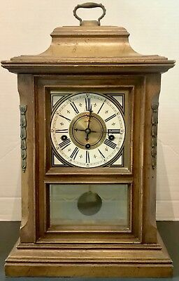 Fine Franz Hermle Westminster Chimes Mantle Clock, Works!