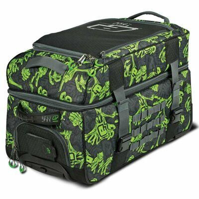 Planet Eclipse GX Split Compact Gear Bag Zombie Stretch Poison grün Reise Tasche