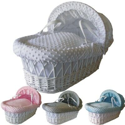 Cuddlesoft Dimple Moses Dressing set - To fit wicker baskets