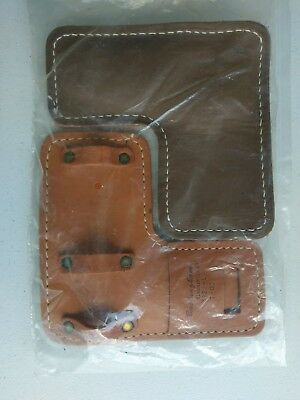 Pair Buckingham 3122 Climber Pads Spur Pads Gaff Pads Heavy Padded Leather