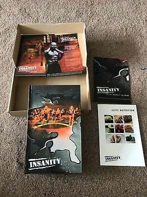 Insanity Work Out DVD Shaun T Health Keep Fit Original and Boxed