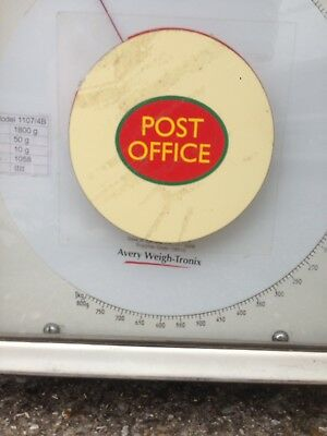Retro Vintage Post Office Avery  Scales