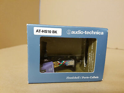 Audio Technica AT HS 10 BK Tonabnehmer / Cartridge AT HS 10 BK In OVP