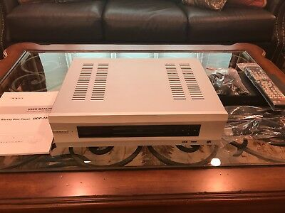 Silver Oppo UDP-105D Blu-ray Player One Owner
