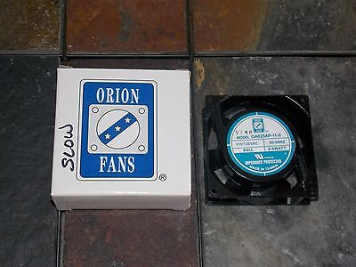 Orion Cooling Fan Rare OA825AP-11-3 OA825AP-11-3TB 110/120VAC 50/60HZ - New