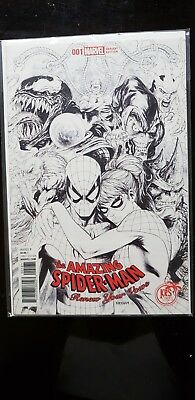 Amazing Spider-Man: Renew Your Vows #1 (2017) #1 Kirkham B&W Sketch Variant KRS