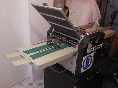 Grafipli Paper Folding Machine In Very Good Used Condition
