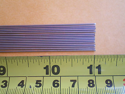 50 STAINLESS STEEL STRAIGHT LURE SHAFT WIRE FORM 0.045 X 8 INCHES LONG