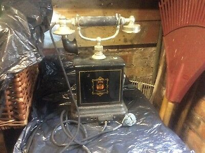 TELEPHONE: old, maybe European, not working and requiring urgent serious TLC