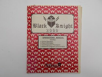 Black Knight 2000 Operations Manual von Williams