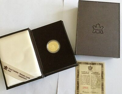 1993 Canada Proof $100 gold coin commemorating the evolution of the automobile