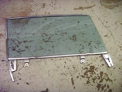 1963 1964 Cadillac Coupe Deville Left Driver Side Door Tinted Glass Window