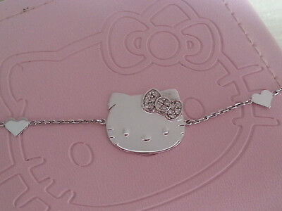 Victoria casal victoria couture hello kitty necklace collier or blanc diamants