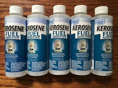 LOT OF 5 - 8oz Klean Strip Kerosene/Kero Fuel Additive Unscented Bottles