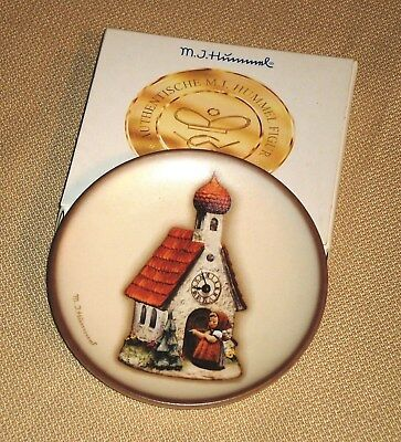 Mini Plate M.I.HUMMEL Century Collection CHAPEL TIME Goebel Germany Box 632s