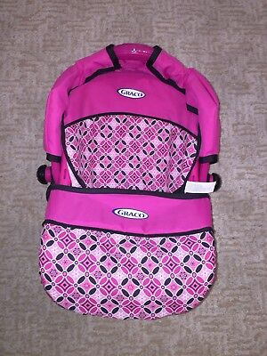 Graco pink patterned play babydoll carrier case for dolls