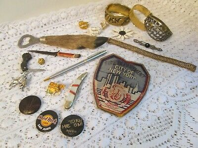 Vintage Junk Drawer Lot