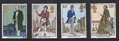 GB Stamps 1979, Death Centenary of Sir Rowland Hill, VFU set of 4 from FDC