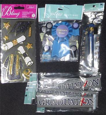 Jolee's Boutique Graduation Lot of 9 Pcs 3D Dimensional Stickers