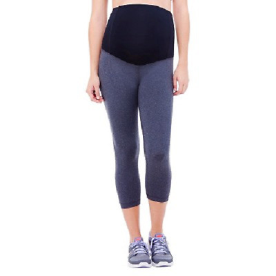 BeMaternity by Ingrid & Isabel Active Capri Leggings with Crossover Panel XXL