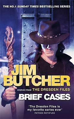Brief Cases: The Dresden Files by Jim Butcher Hardcover Book Free Shipping!