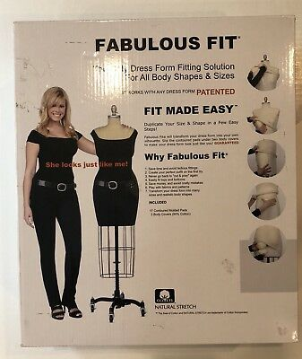 fabulous fit the only dress form fitting solution all body shapes