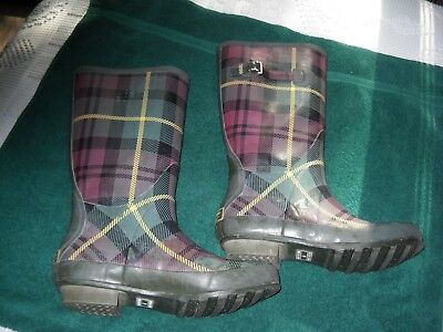"""Pair  of Women's   L.L.Bean """"Wellie"""" Boots,Size 9 Medium,Pre-owned"""