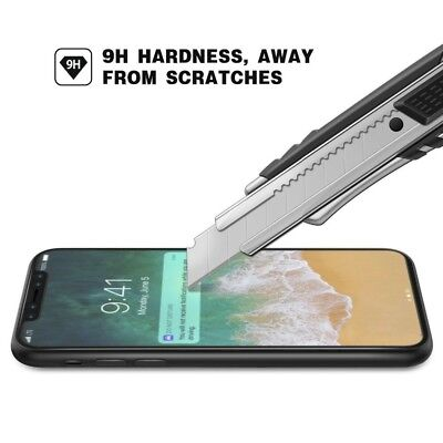 50 x Tempered Glass Screen Protector for iphone X HD Cover Film
