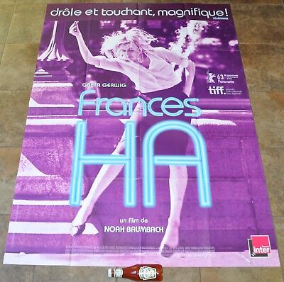 FRANCES HA Movie Poster - MASSIVE Original - Greta Gerwig - Noah Baumbach - NEW