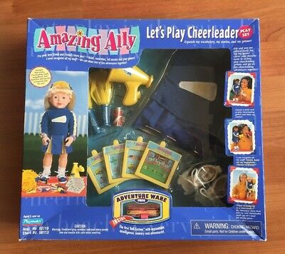 Playmates Amazing Ally Let's Play Cheerleader Outfit & Playset NIB
