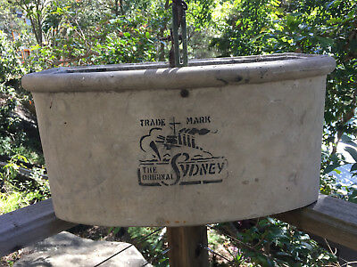 Antique Toilet Cistern,  Concrete,  Good Working Order,  Very Rare.