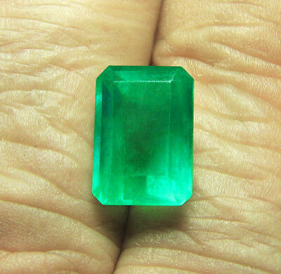 1.88 ct Natural Earth Mined Emerald Certified No Reserve