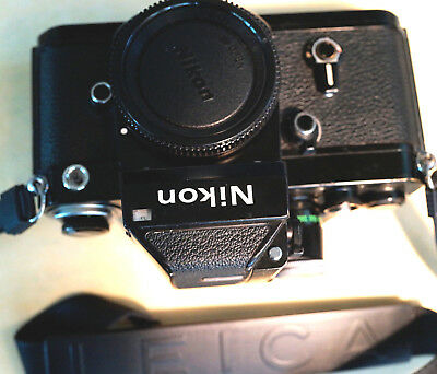 Nikon F2 body with D-11 photomic finder, completely rebuilt