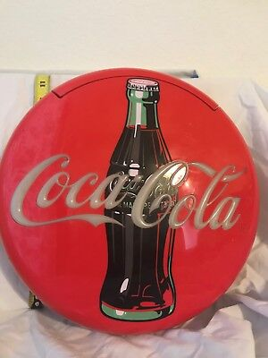 Coca Cola Red Button Light Up Telephone & Ringer Vintage