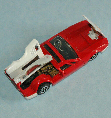 DINKY TOYS Tri-ang original 1968 De Tomaso Mangusta 5000 red, white #187 RN7