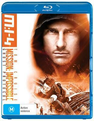 Mission Impossible - Ghost Protocol - Blu Ray Region B Free Shipping!