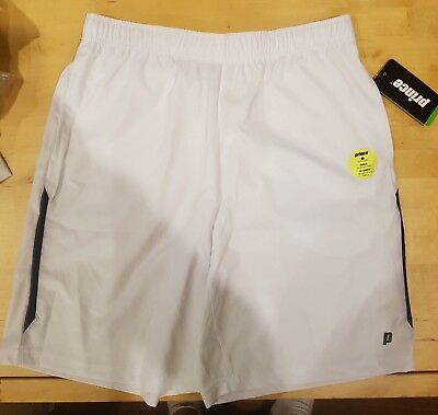 White Prince Tennis Shorts, Men's - Medium