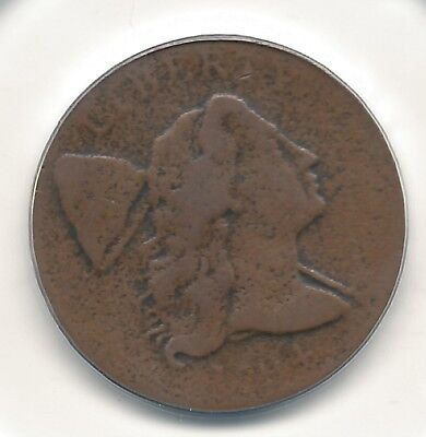 1794 1c Liberty Cap Large Cent UNSLABBED