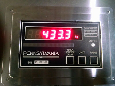 Pennsylvania Weiging Scale Company Remote display with 9ft cable