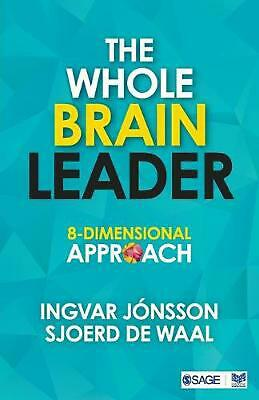 The Whole Brain Leader: 8-Dimensional Approach by Ingvar Jonsson Paperback Book