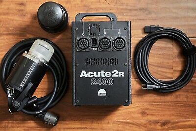 Profoto Acute2 2400R, 1 Head (Pocket Wizard built-in) transmitter included!