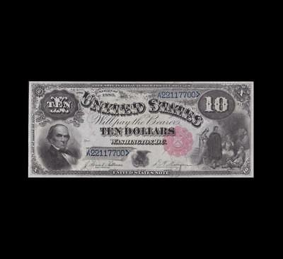 1880 $10 Legal Tender Almost Uncirculated